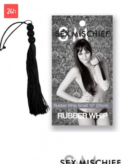 Sex & Mischief 10 inch Latex Whip