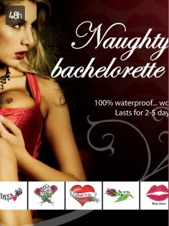 Adult Body Art - Naughty Bachelorette