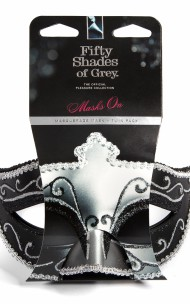 50 Shades of Grey - Maska karnawałowa Masquerade Mask Twin Pack Dwupak