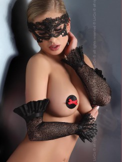 Livia Corsetti - Mask Black Model 4 LC 13004