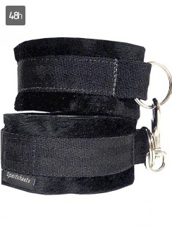 Sportsheets - Soft Cuffs Black