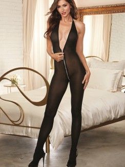Dreamgirl - 0248 bodystocking z suwakiem
