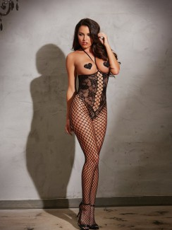 Dreamgirl - 0268 Peek-a-boo Bodystocking