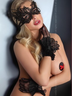 Livia Corsetti - Mask Black Model 1 LC 13001