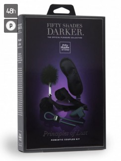 50 Shades Darker - Principles of Lust Romantic Couples Kit