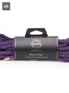 50 Shades Freed - Want to Play? 10m Silky Rope