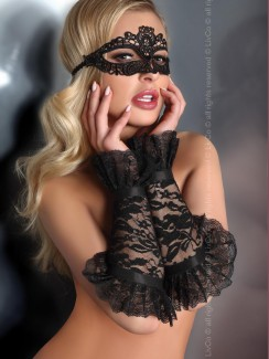 Livia Corsetti - Gloves Black Model 13 LC 28011