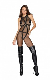 Dreamgirl - 0291 Bodystocking z Body Harness