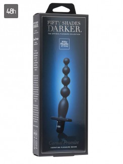 50 Shades Darker - Carnal Promise Vibrating Anal Beads